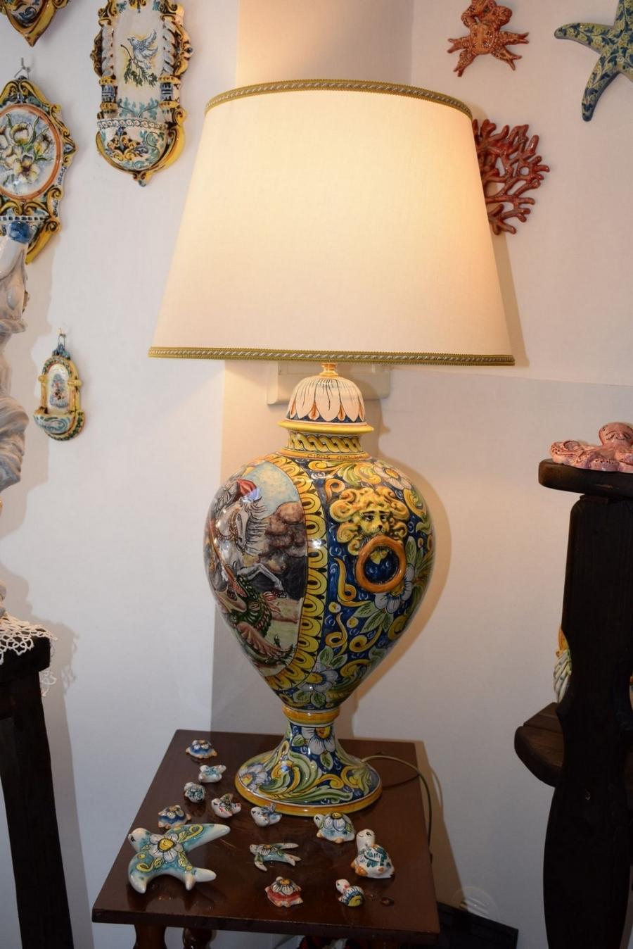 Lumi E Bagiure Ceramiche Ciros Ceramiche Di Caltagirone